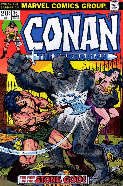 Conan the Barbarian Vol 1 36