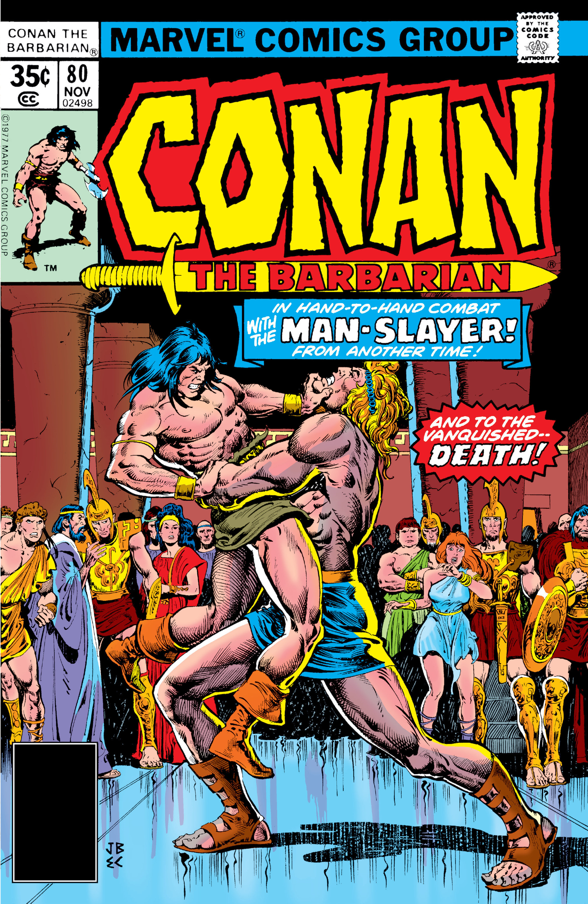 Conan the Barbarian Vol 1 80