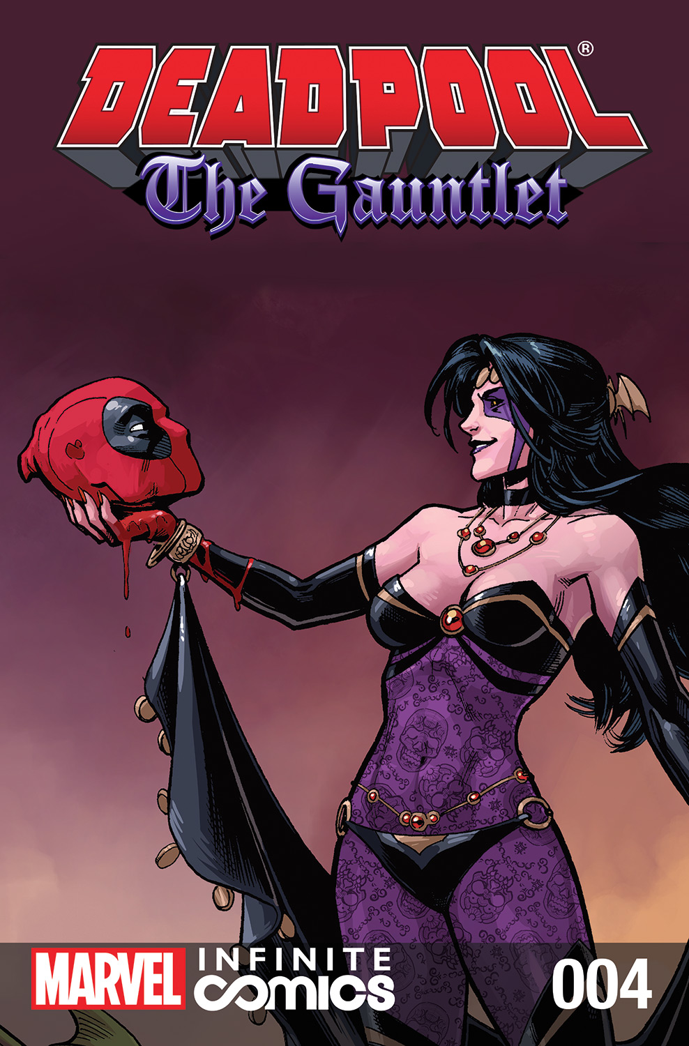 Deadpool: The Gauntlet Infinite Comic Vol 1 4