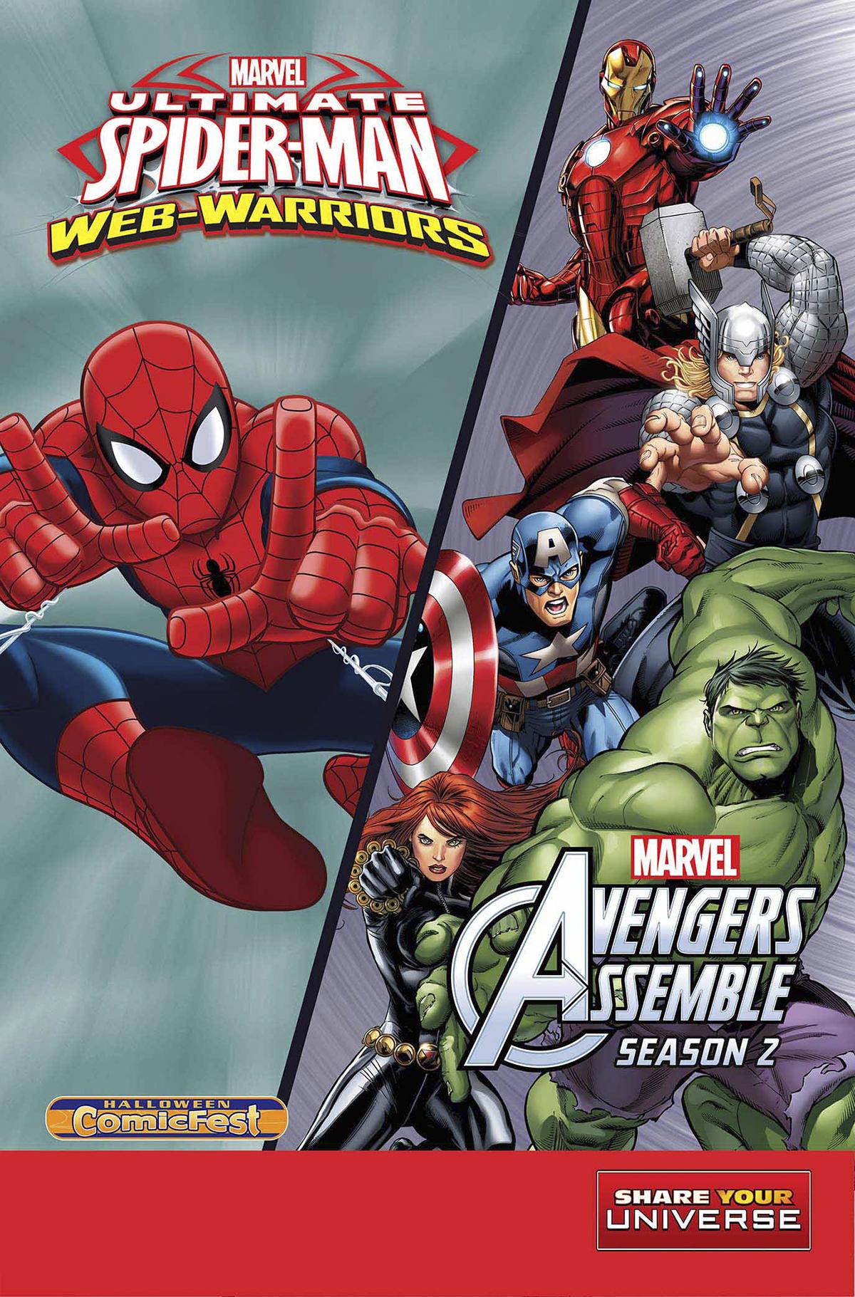 Halloween ComicFest Vol 2015 Ultimate Spider-Man Avengers Assemble
