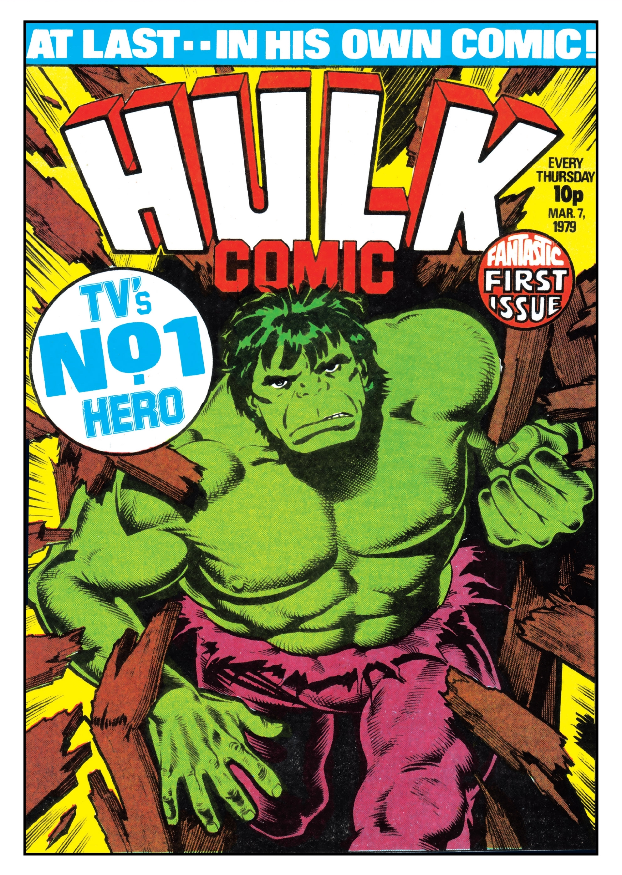 Hulk Comic (UK) Vol 1 1