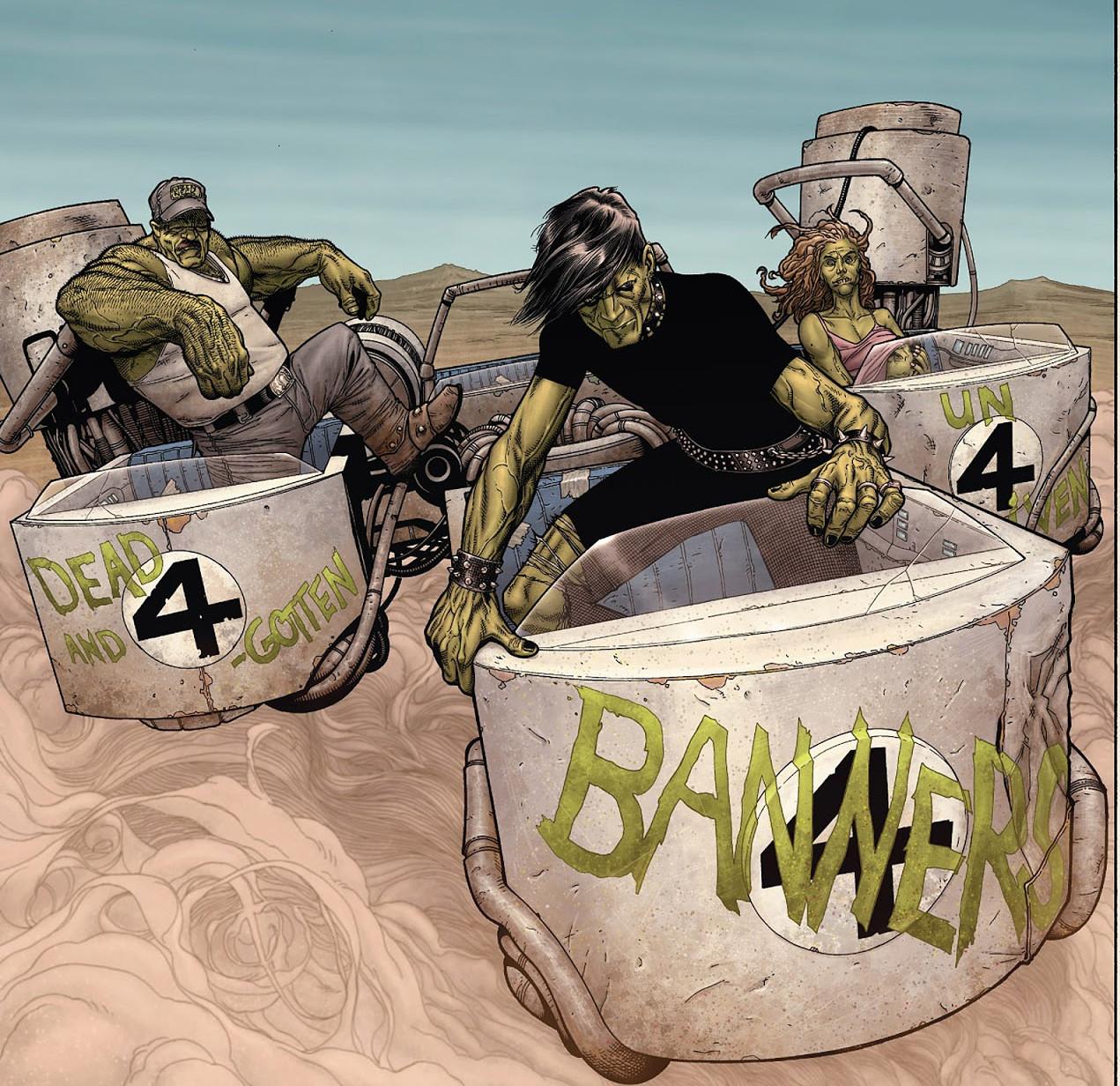 Hulk Gang (Earth-807128)/Gallery
