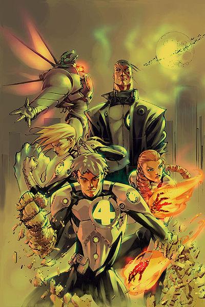 Megascale Metatalent Response Team Fantastic Four (Earth-2301)/Gallery
