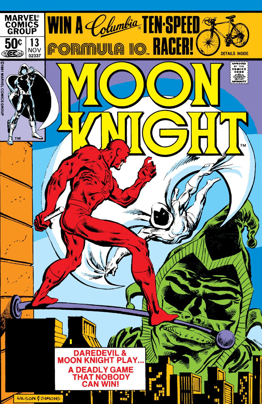 Moon Knight Vol 1 13