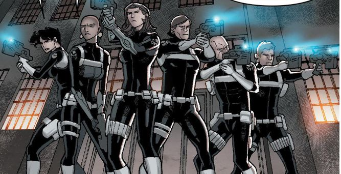 Moth Squadron (Earth-616)/Gallery