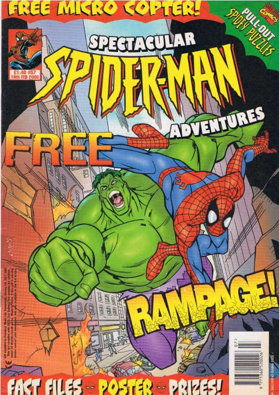 Spectacular Spider-Man (UK) Vol 1 57