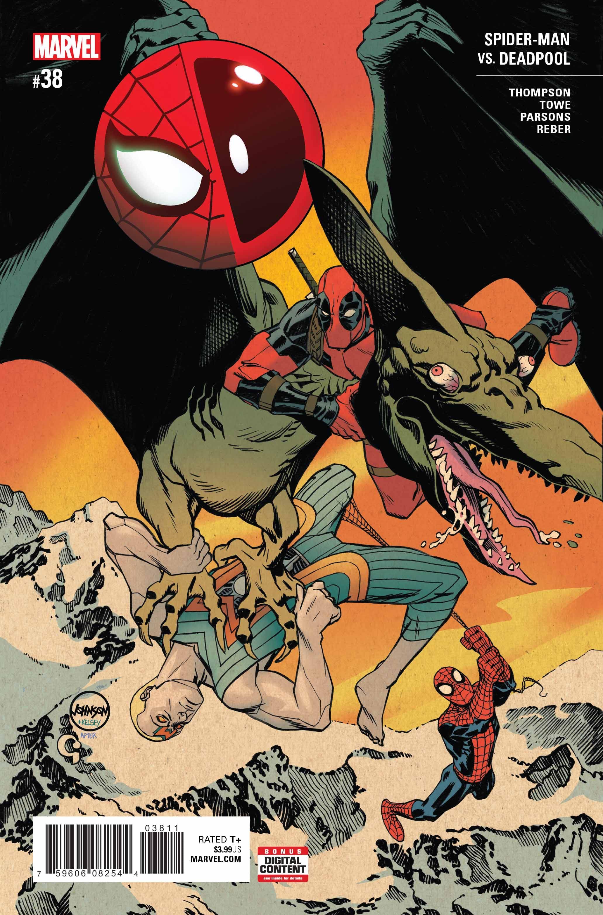 Spider-Man/Deadpool Vol 1 38