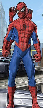 The Six-Armed Spider-Man (Peter Parker) from Spider-Man Unlimited (Video Game) 0001.jpg