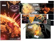 Titan (Moon of Saturn) from Thanos Rising Vol 1 5 001