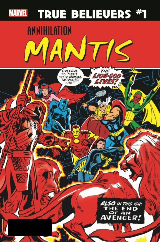 True Believers: Annihilation - Mantis Vol 1 1