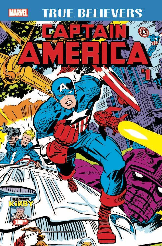 True Believers: Kirby 100th - Captain America Vol 1 1