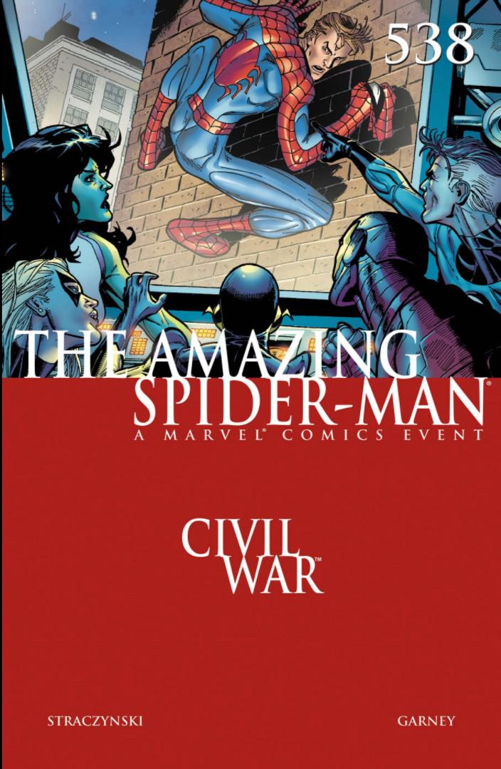 Amazing Spider-Man Vol 1 538