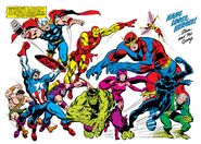 Avengers (Earth-616) from Avengers Annual Vol 1 2 001