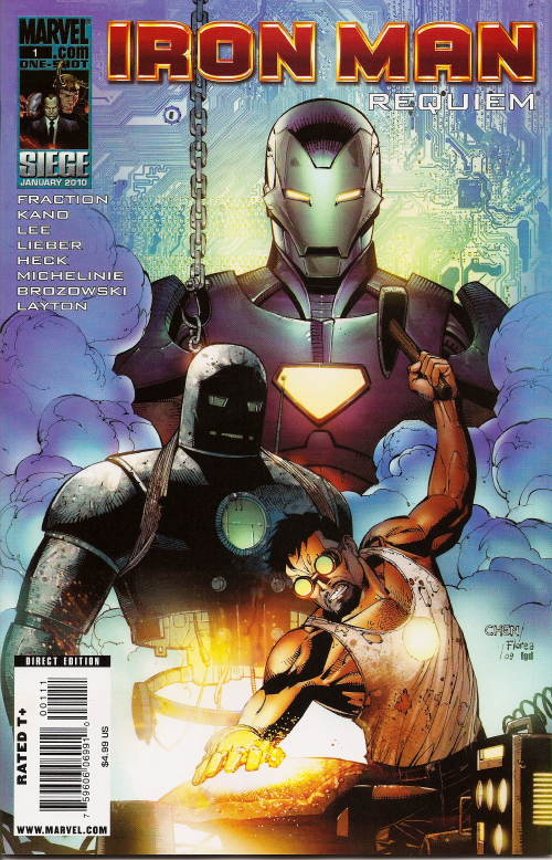 Iron Man: Requiem Vol 1 1