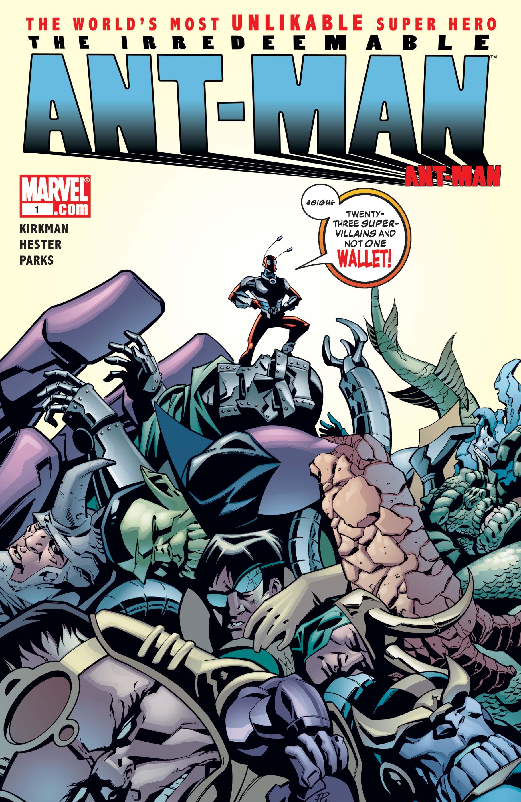 Irredeemable Ant-Man Vol 1 1