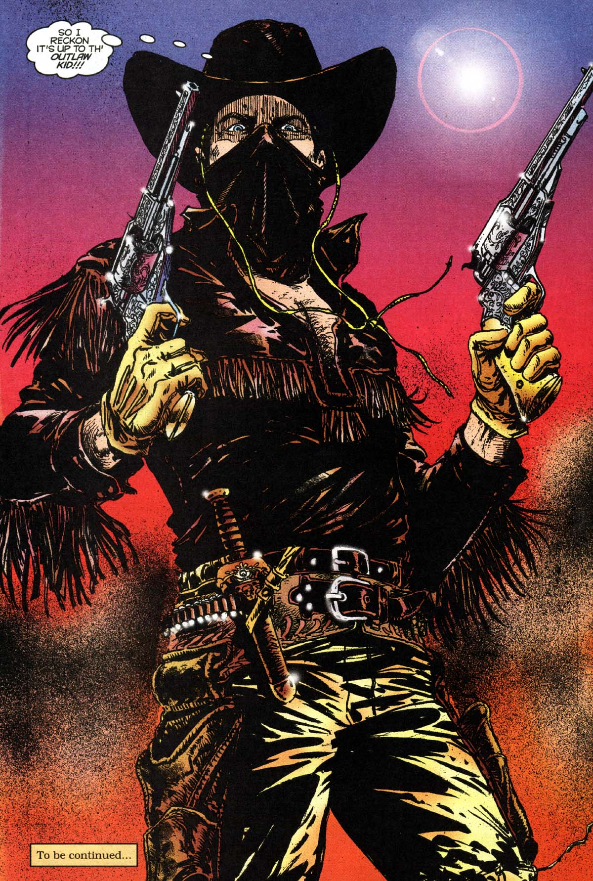 Lance Temple (Outlaw Kid) (Earth-616)