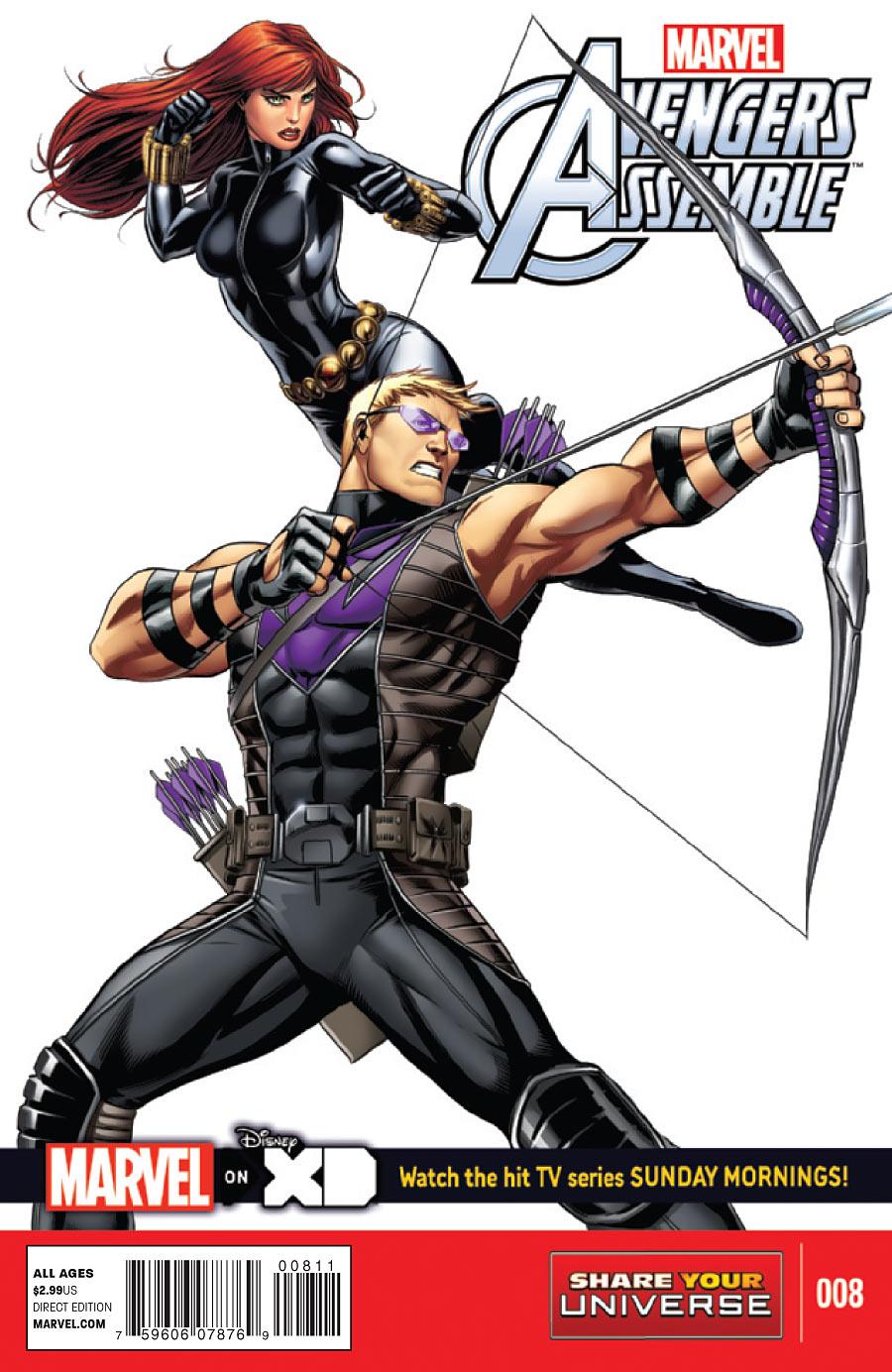 Marvel Universe: Avengers Assemble Vol 1 8