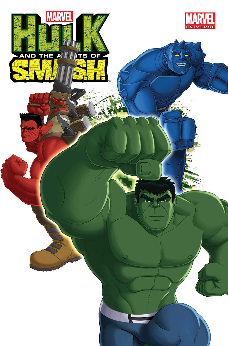 Marvel Universe: Hulk and the Agents of S.M.A.S.H. Vol 1 1