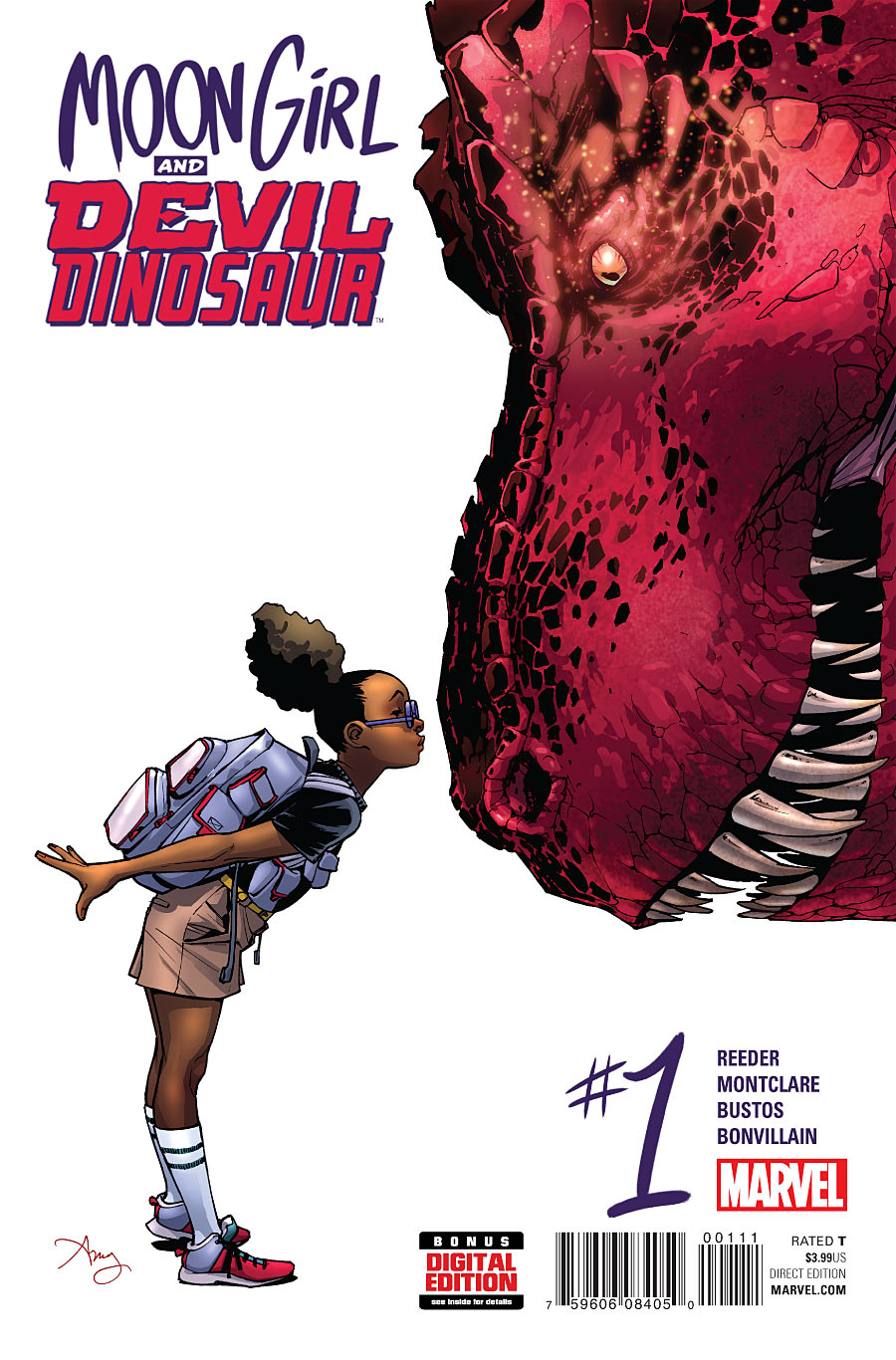 Moon Girl and Devil Dinosaur Vol 1 1