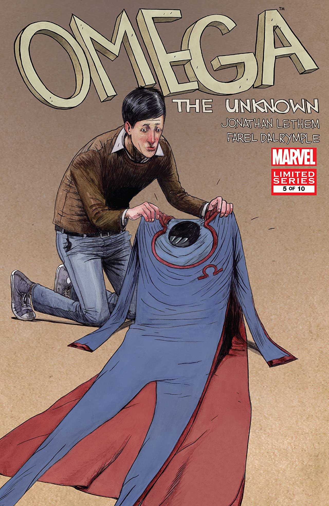 Omega: The Unknown Vol 1 5