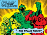 Titanic Three (Earth-616)