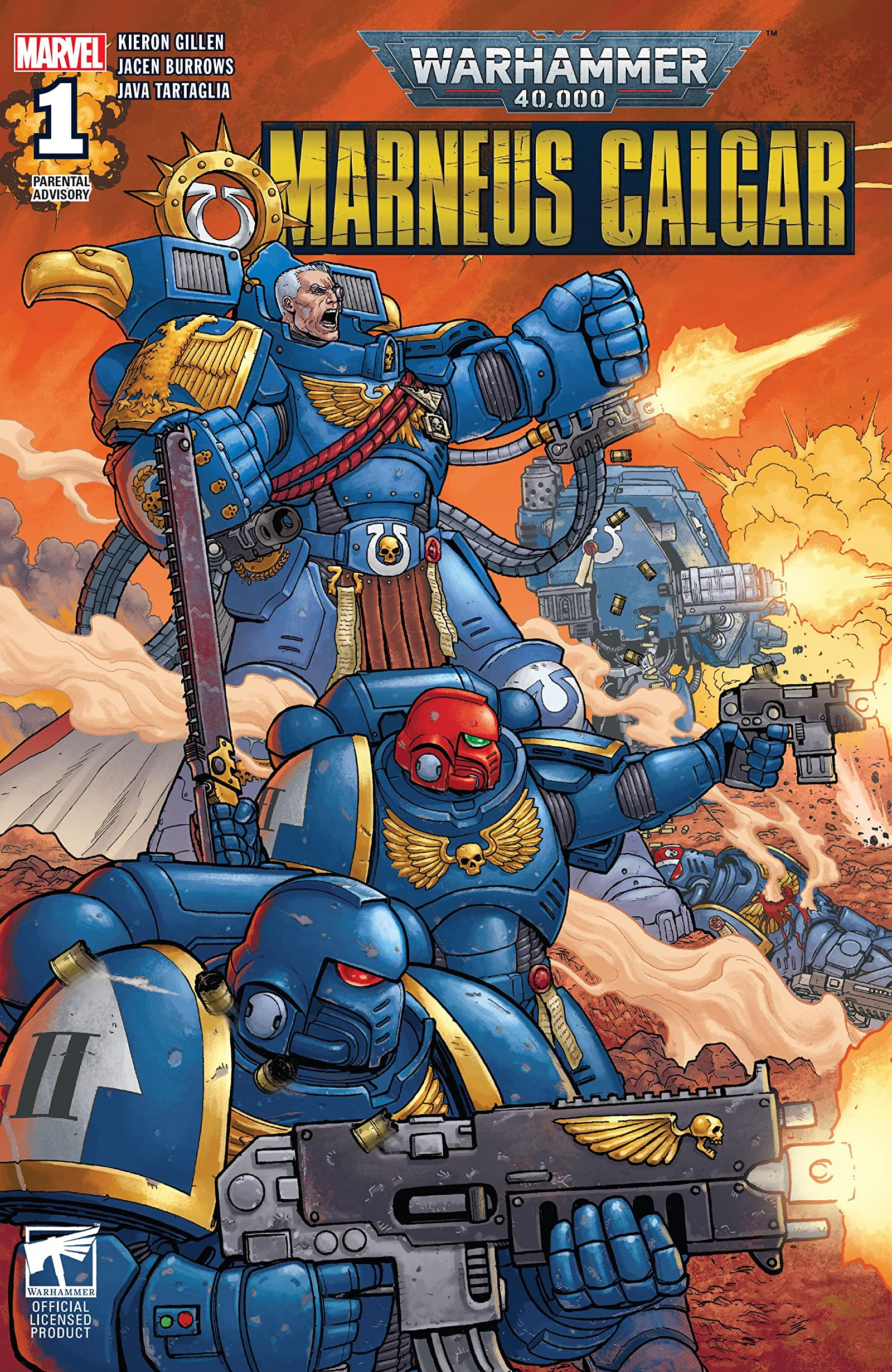Warhammer 40,000: Marneus Calgar Vol 1