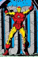 Anthony Stark (Earth-616) from Iron Man Vol 1 100 cover