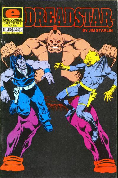 Dreadstar Vol 1 5