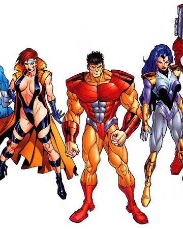 Genetix (Earth-616) from Official Handbook of the Marvel Universe A-Z Update Vol 1 2 001.jpg