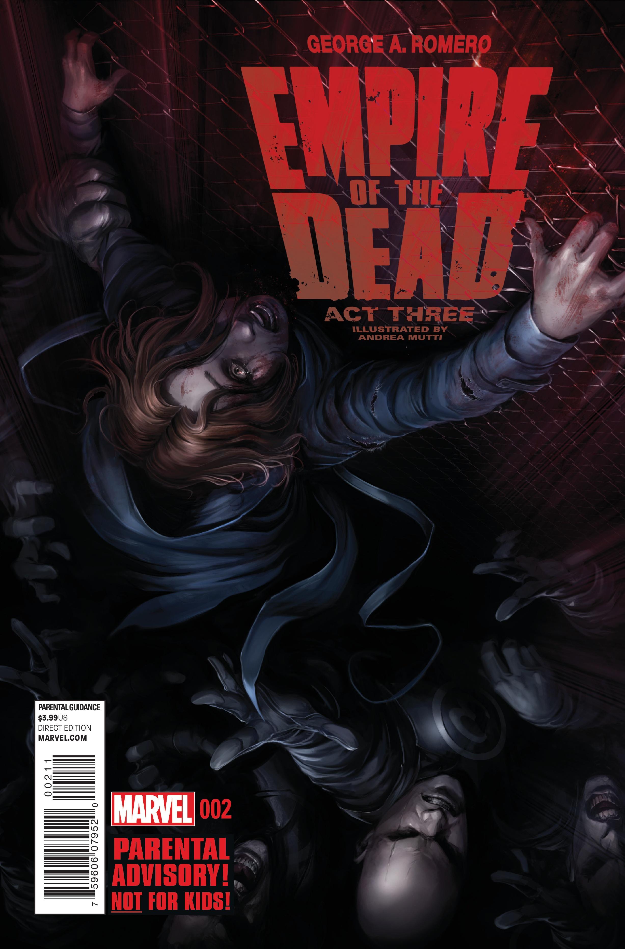 George Romero's Empire of the Dead: Act Three Vol 1 2