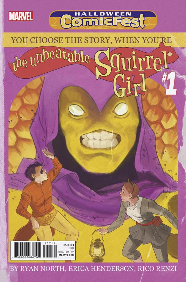 Halloween ComicFest Vol 2016 Unbeatable Squirrel Girl