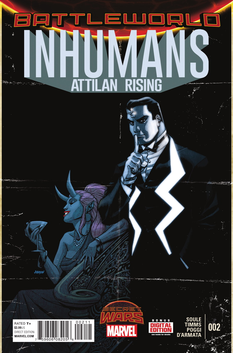 Inhumans: Attilan Rising Vol 1 2