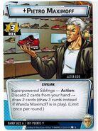 Pietro Maximoff (Earth-616) from Marvel Champions Quicksilver 001