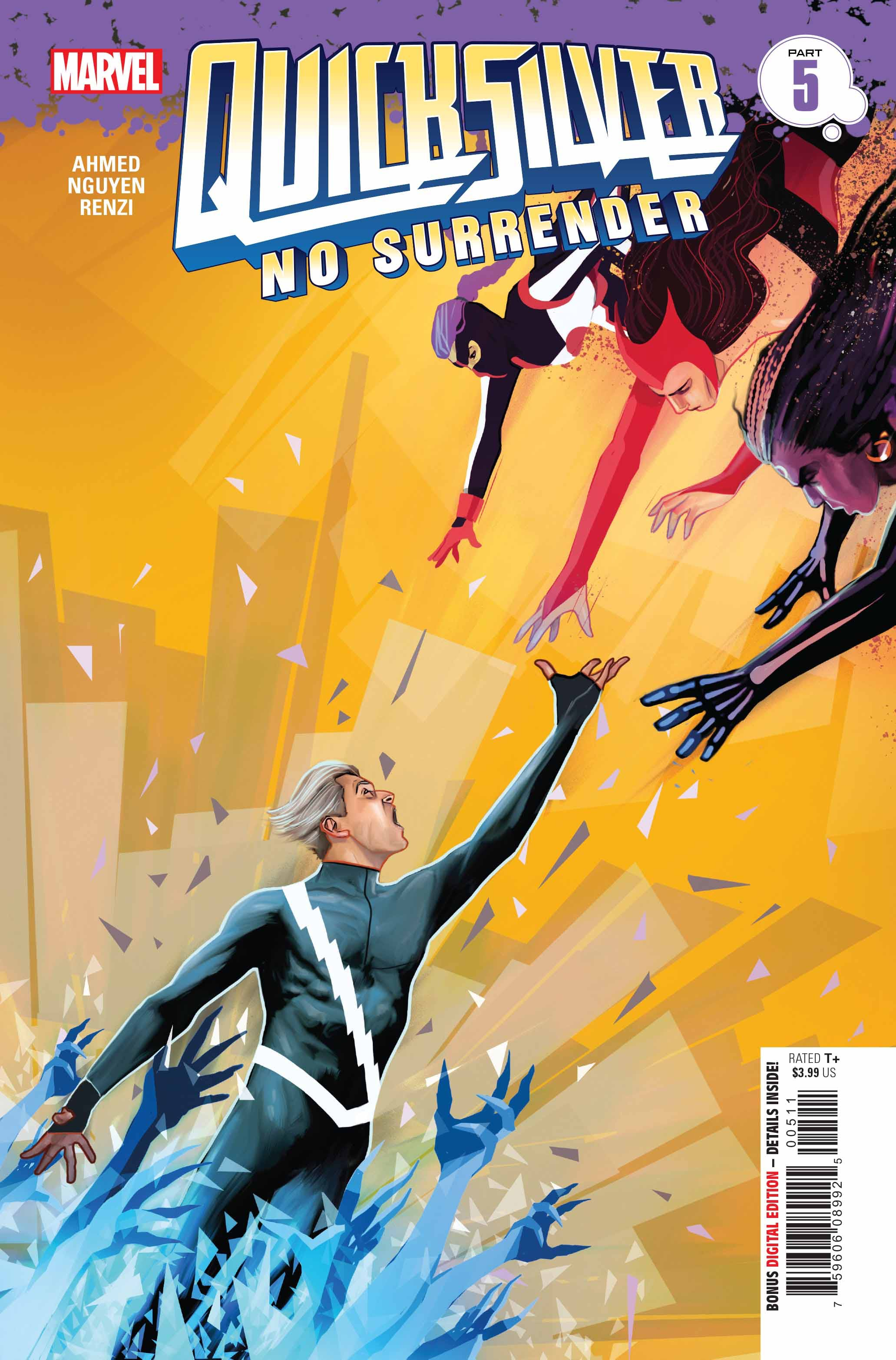 Quicksilver: No Surrender Vol 1 5