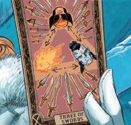 Three of Swords Tarot Card from Wolverine Vol 7 7 001