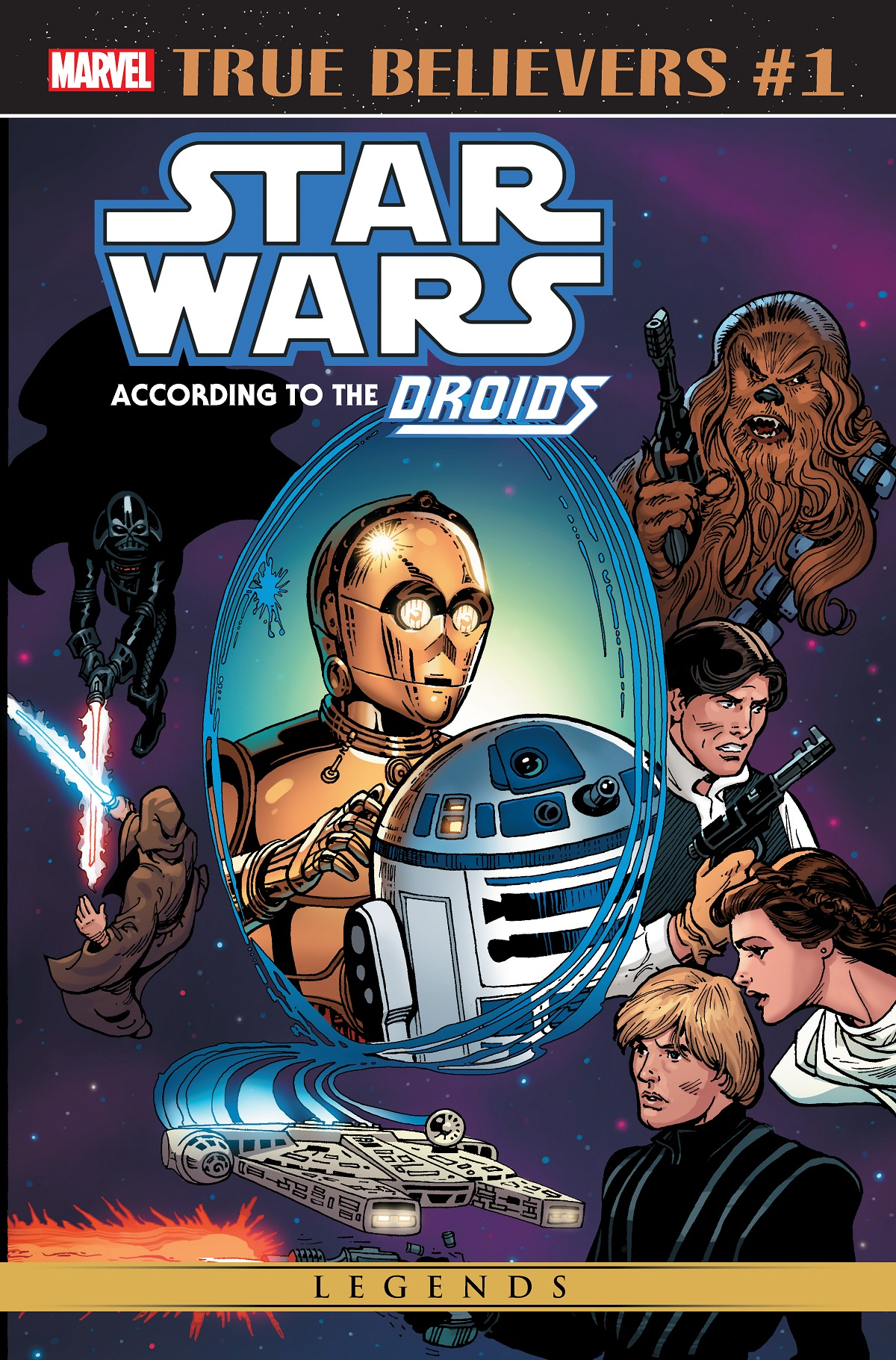 True Believers: Star Wars - According to the Droids Vol 1 1