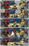Wade Wilson (Earth-616) and Bill (A.I.M. Agent) (Earth-616) from Deadpool Merc with a Mouth Vol 1 5 001