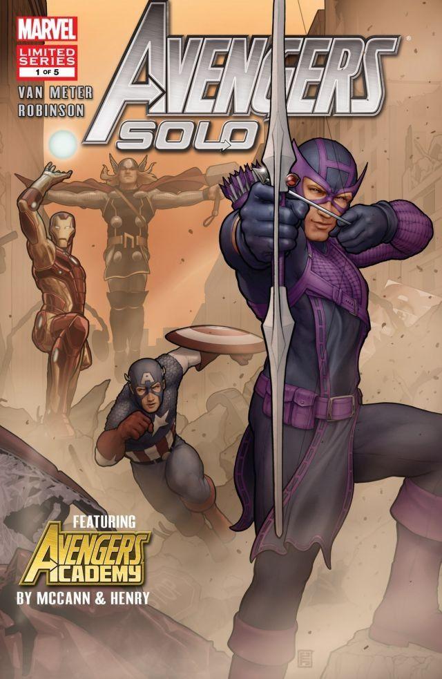 Avengers: Solo Vol 1 1
