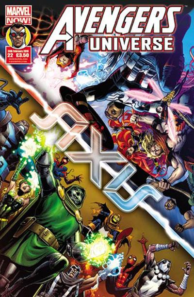 Avengers Universe (UK) Vol 1 22