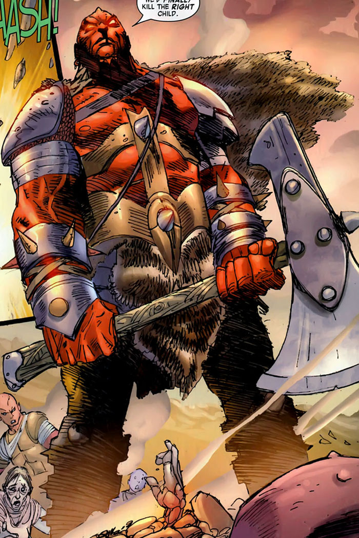 Axeman Bone (Earth-616)