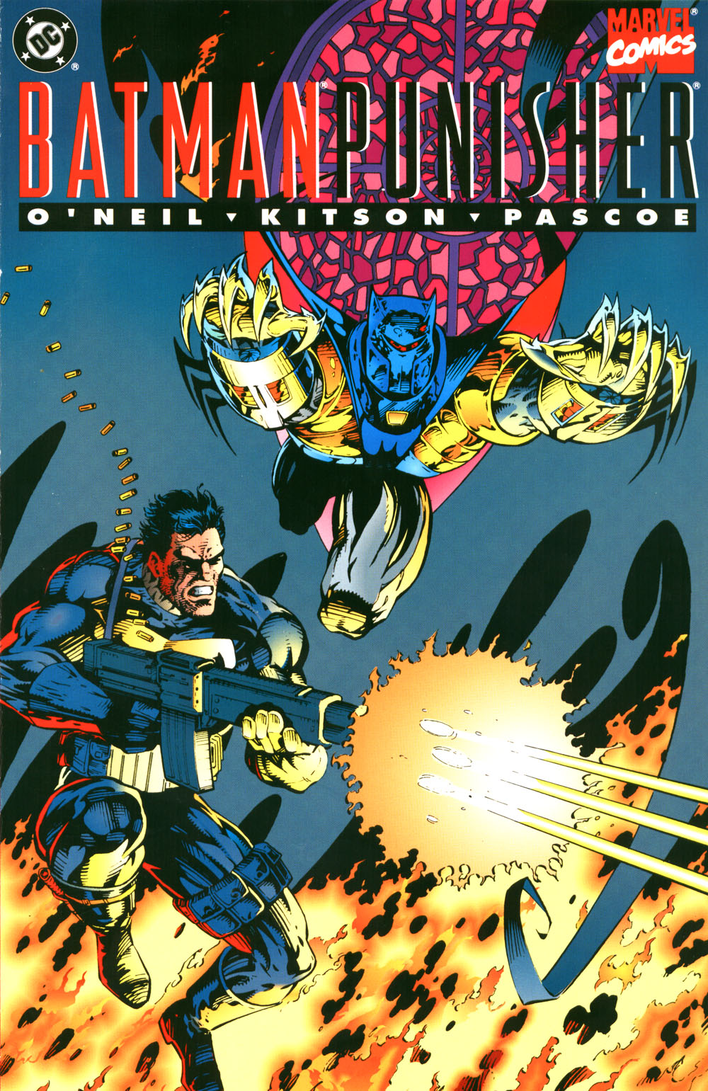 Batman and Punisher: Lake of Fire Vol 1