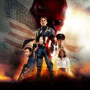 Captain America The First Avenger poster 001 textless Variant
