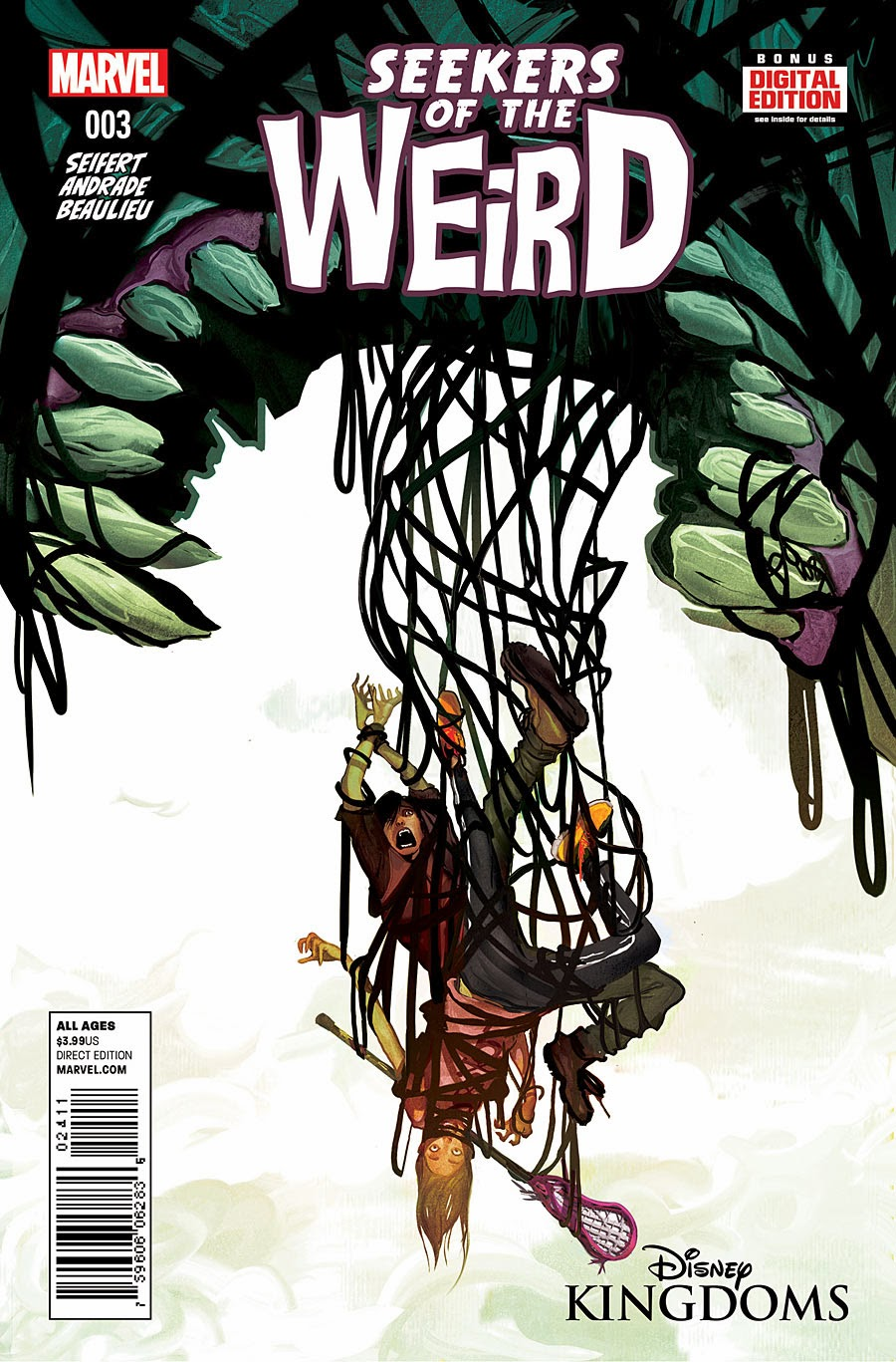 Disney Kingdoms: Seekers of the Weird Vol 1 3