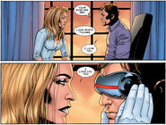 Emma Frost (Earth-616) and Scott Summers (Earth-616) from Giant-Size Astonishing X-Men Vol 1 1 001