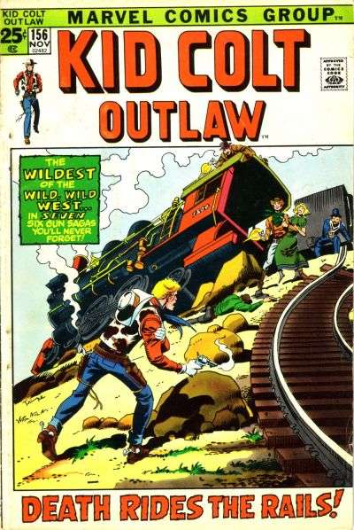 Kid Colt Outlaw Vol 1 156
