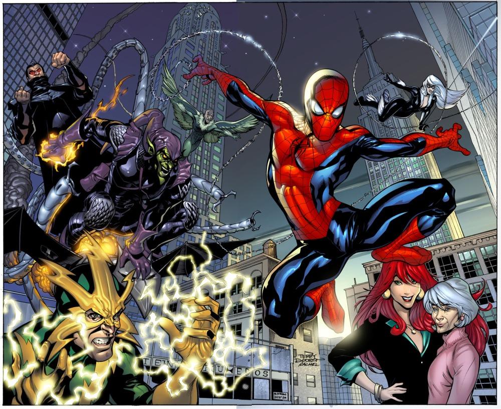 Marvel Knights Spider-Man Vol 1 1 Textless Wrap Variant.jpg