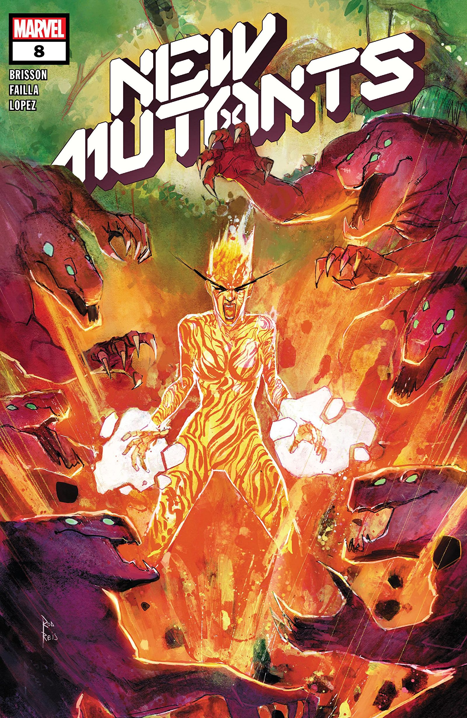 New Mutants Vol 4 8