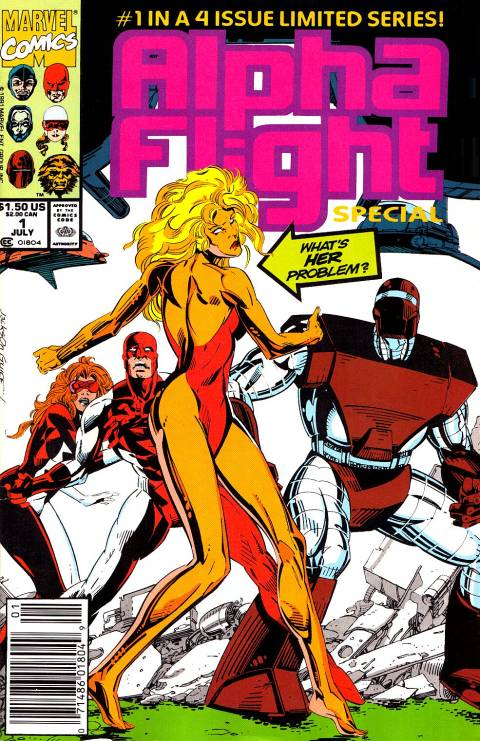 Alpha Flight Special Vol 1 1