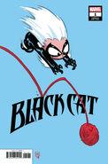 Black Cat Vol 1 1 Young Variant