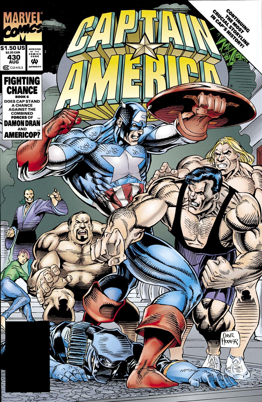 Captain America Vol 1 430